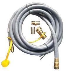 Ombouwset aardgas voor Enjoyfires inbouwbrander 42x42 cm en 60x30 cm