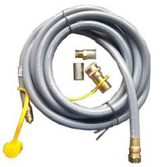 Ombouwset aardgas voor Enjoyfires inbouwbrander 32x32 cm
