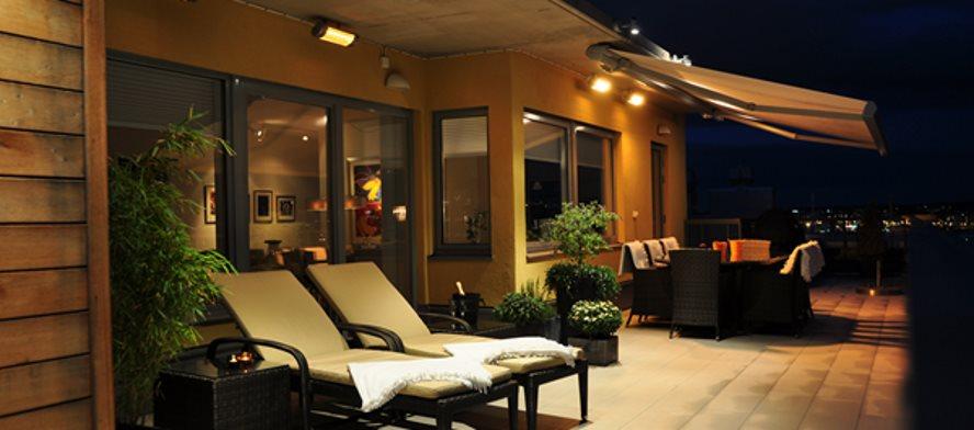 hoe werkt een terrasverwarmer met infrarood?
