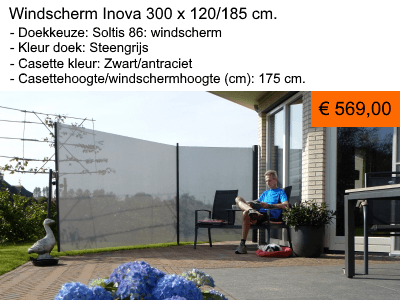 Windscherm Inova