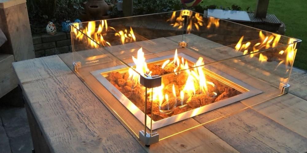 Tips om zelf een vuurtafel te maken